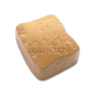 Античный камень АКМ, желто-коричневый