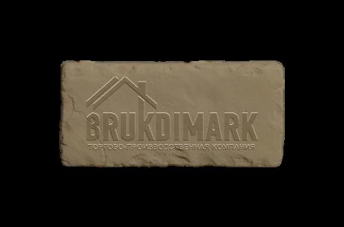 Античный камень АКБ, бежево-коричневый