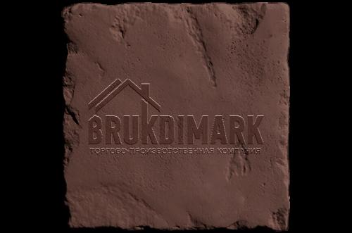 Античный камень АКБ, темно-коричневый