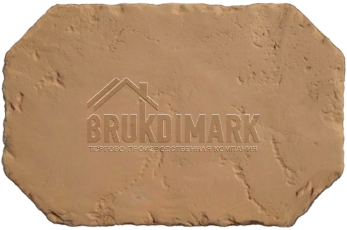 Античный камень АКБ, кремово-коричневый